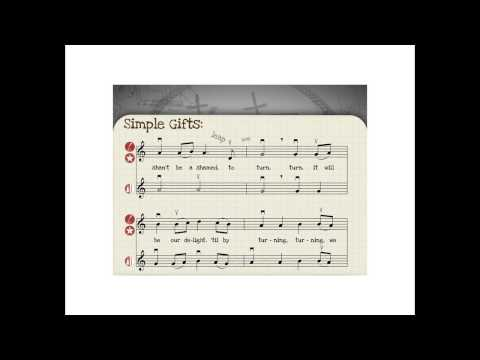 Simple Gifts PPT  VIDEO FOR UPLOAD