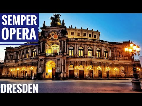 Semper Opera | What to see in Dresden | tourist Sightseeing spot