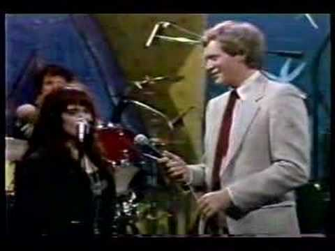 X   on David Letterman