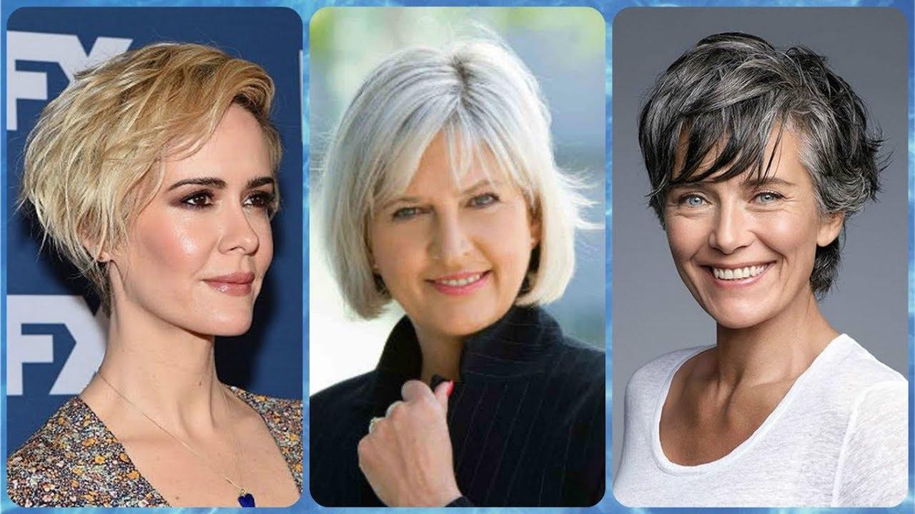 Modelo De Corte De Cabelo Curto Para Mulheres De 50 Anos