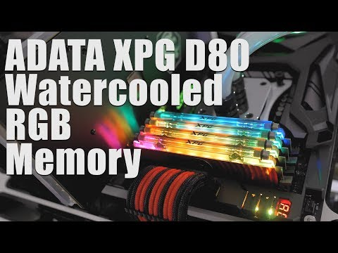 Watercooled and RGB Memory? ADATA Spectrix D80 Memory