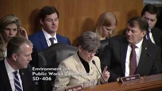 Ernst Questions EPA Administrator Nominee on EPA Overregulation