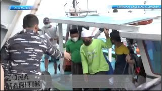 ZONA MARITIM - SERBUAN VAKSIN TNI ANGKATAN LAUT