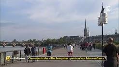 Classements des villes françaises : peut-on leur faire confiance ?