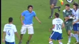 Bronca en el partido Morelia vs Cruz Azul