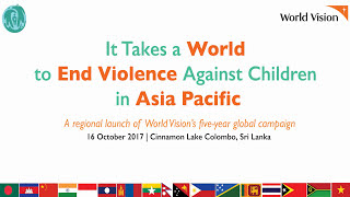 World Vision It Takes a World in Asia Pacific Campaign Launch
