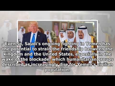 Trump urges saudi arabia to end blockade of goods into yemen| By Channel