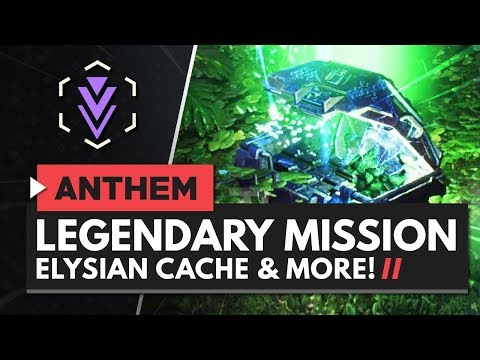 ANTHEM | Elysian Caches, Legendary Missions, Field of View Slider & More!
