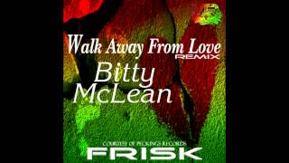 RIQYR0015   Bitty Mclean   Walk Away From Love   Frisk Remix