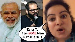 Comedian Mallika Dua INSULTS Kunal Kamra After Narendra Modi WON Lok Sabha Election 2019