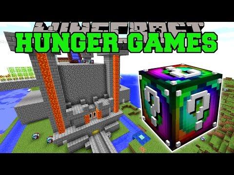 Minecraft: POPULARMMOS CASTLE HUNGER GAMES...