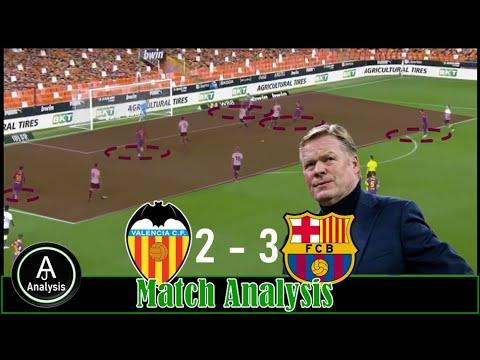 Download Valencia 2-3 Barcelona Match Analysis  How Barcelona beat Valencia 