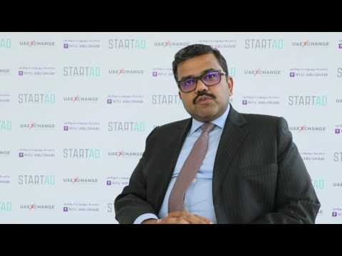 UAE Exchange CEO Promoth Manghat talks about the partnership with NYUAD