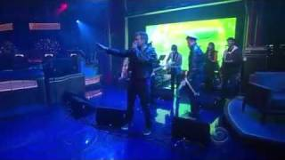 Gorillaz - Rhinestone Eyes - Late Show with David Letterman