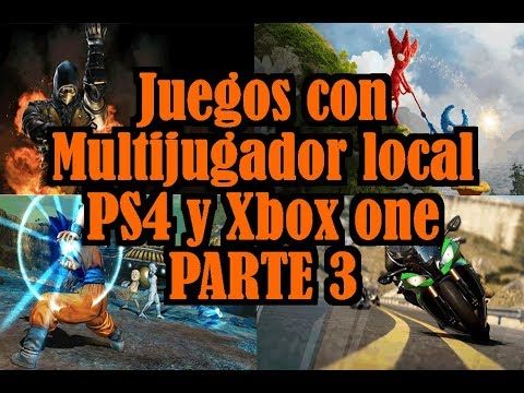 Juegos Con Multijugador Local Ps4 Y Xbox One 3 Youtube