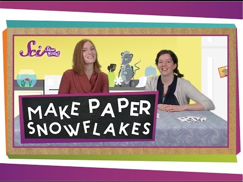 How to Make a Paper Snowflake! | Project for Kids