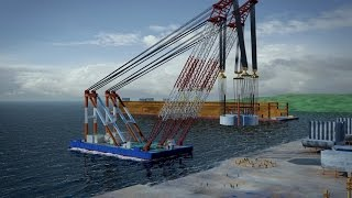 This Floating Crane Can Lift Up To 3,600 Tons!