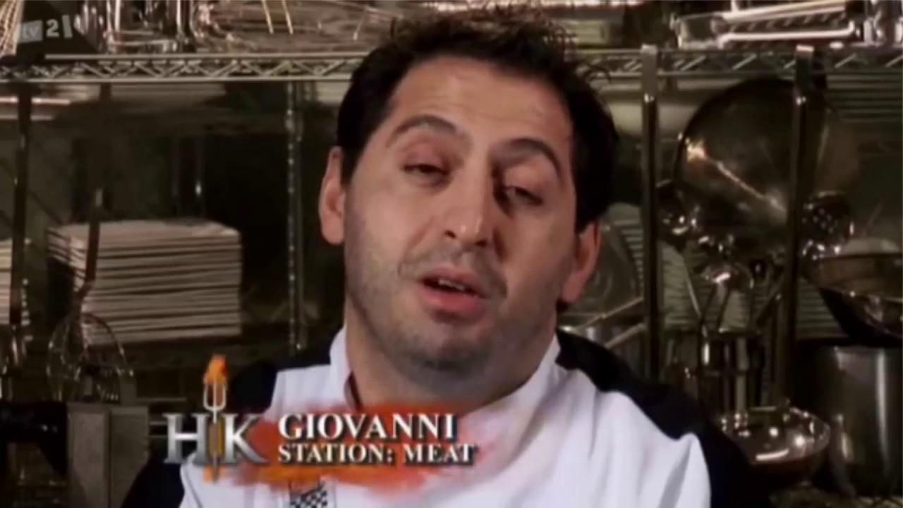 Gordon Ramsay Vs Giovanni D Kface Hell S Kitchen Hd Youtube