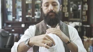 Richtig Rasieren mit einem Rasiermesser - Tipps vom Profi - Marke GOLDDACHS