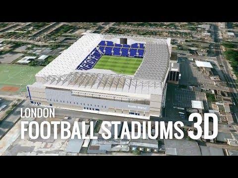 London Football Stadiums In 3D