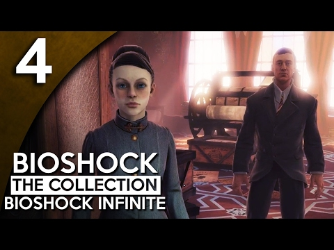 Let's Play BioShock Infinite Blind Part 4 - Sky Lines [BioShock Collection Gameplay]