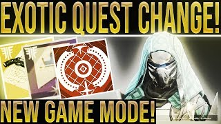 Video Destiny 2. EXOTIC QUEST CHANGE & NERFS! Big Teaser, Masterwork Economy, New Game Mode & New Maps! download MP3, 3GP, MP4, WEBM, AVI, FLV September 2018
