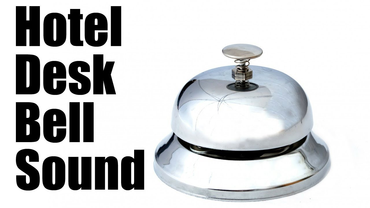 Perfect Desk Bell Sound Effect (Best Audio Quality) Nice Ideas