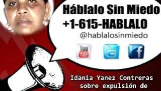 #Cuba: Idania Yanez Contreras sobre expulsión de huelguista del hospital. 2/9 5:21PM
