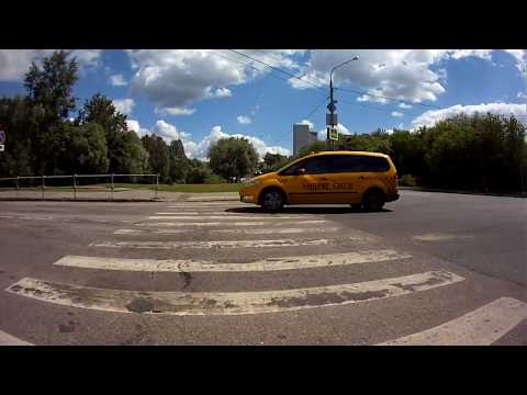 На велосипеде от Медведково (Москва) до МКАД (Мытищи)