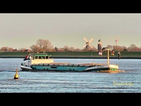GMS AXIOMA PD9543 MMSI 244740160 river barge inland cargo ship merchant vessel Binnenschiff