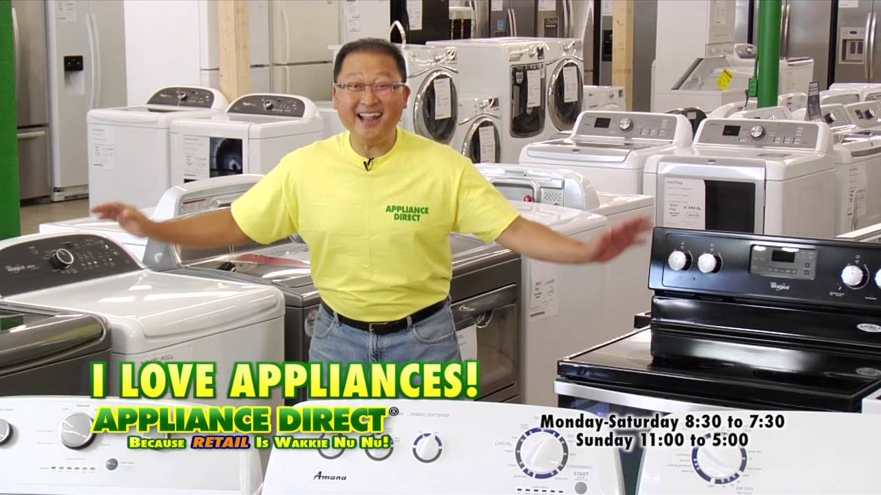 White Porcelain! Appliance Direct! - YouTube