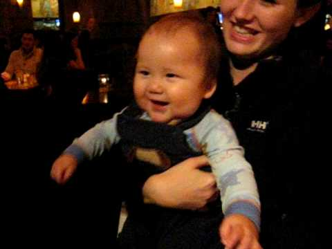 Jacob Stephen Dahl Having Fun with Aunte 'T' and M...