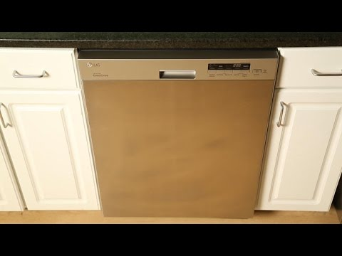 This LG dishwasher is definitely not amazing