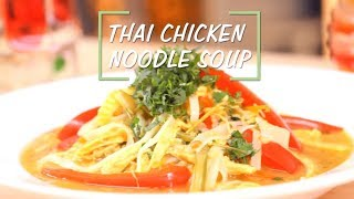 Thai Chicken Noodle Soup | Saffola Fit Foodie | How To | Healthy
