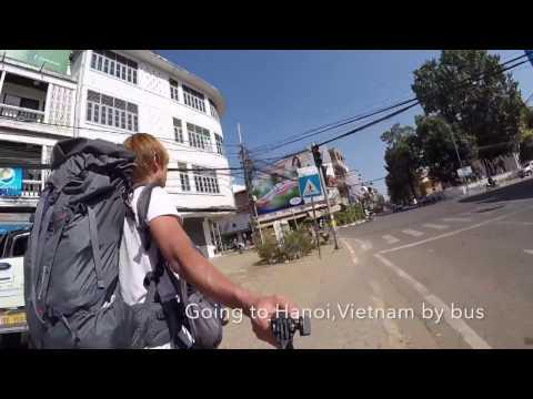 27 hour of bus ride!Vientiane to Hanoi bus