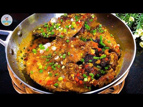 CÁ NGỪ RIM TỎI ỚT đậm vị, rất thích hợp cho bữa cơm gia đình   Bếp Của Vợ