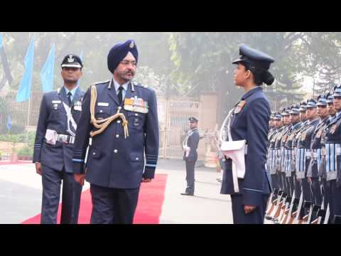Air Chief Marshal BS Dhanoa Takes Charge of Chief of Air Staff