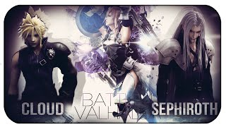 Cloud VS Sephiroth | Coliseo del Valhalla | BATALLA DE RAPS FINAL FANTASY