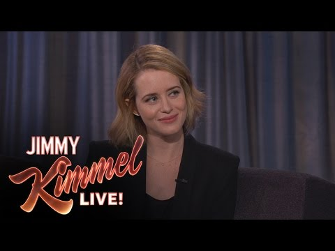 Claire Foy Loves to be Queen