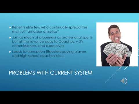 Financial Compensation for College Athletes video