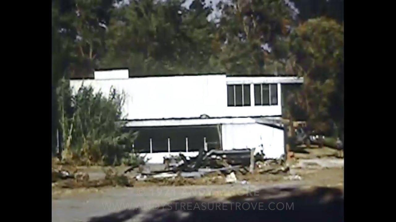 destruction  neutra    von sternberg house being demolished