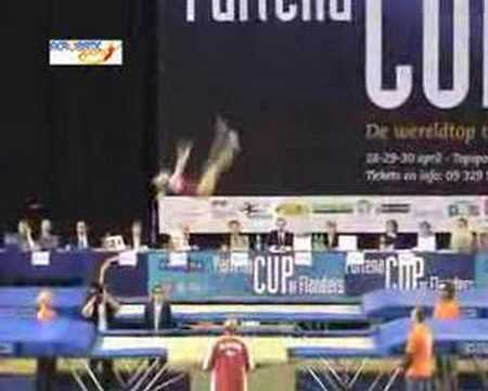 Irina Karavaeva (RUS) Belgium 2006 - Prelims