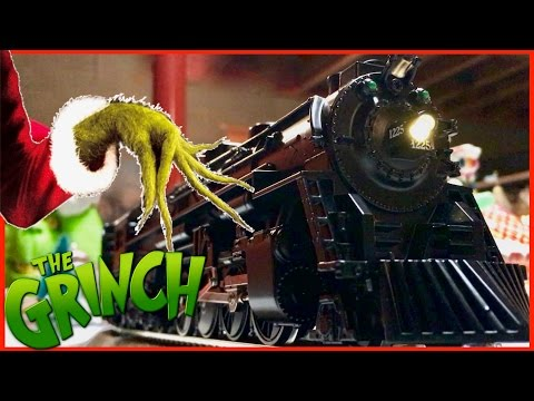 The Grinch's Polar Express Layout