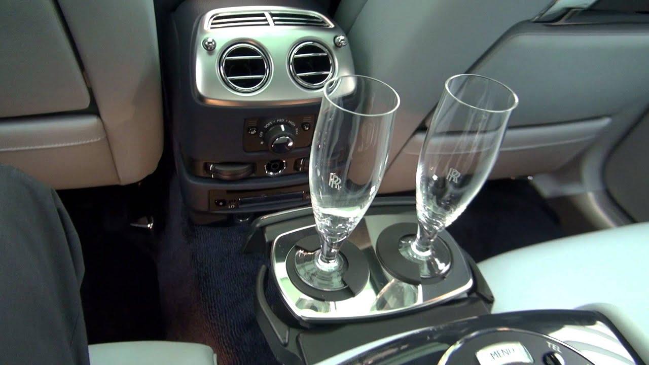 Automatic Door Rolls Royce Ghost Extended Wheelbase Open