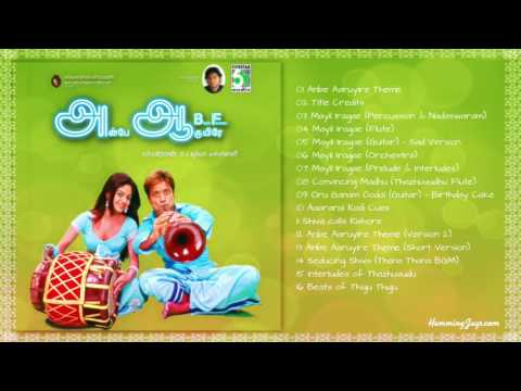 Anbe Aaruyire BGMs (Voiceless/Vocals Removed HQ BGMs of Ah Aah) | An A.R.Rahman Musical