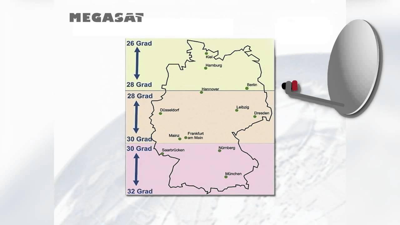Megasat Quick Tip Vertikale Ausrichtung Des Spiegels Youtube