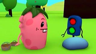Развивающий мультфильм - Руби и Йо-Йо - Несчастный Светофорчик