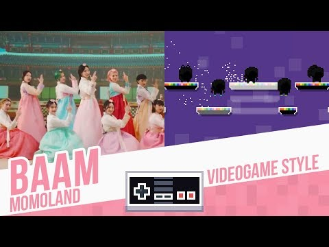 BAAM, Momoland - Videogame Style