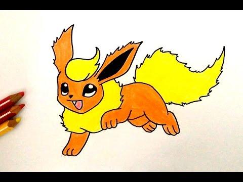 Comment dessiner pyroli pok mon youtube - Comment dessiner goldorak ...