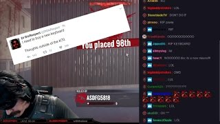 dr disrespect breaks keyboard and rage quits stream timthetatman reaction